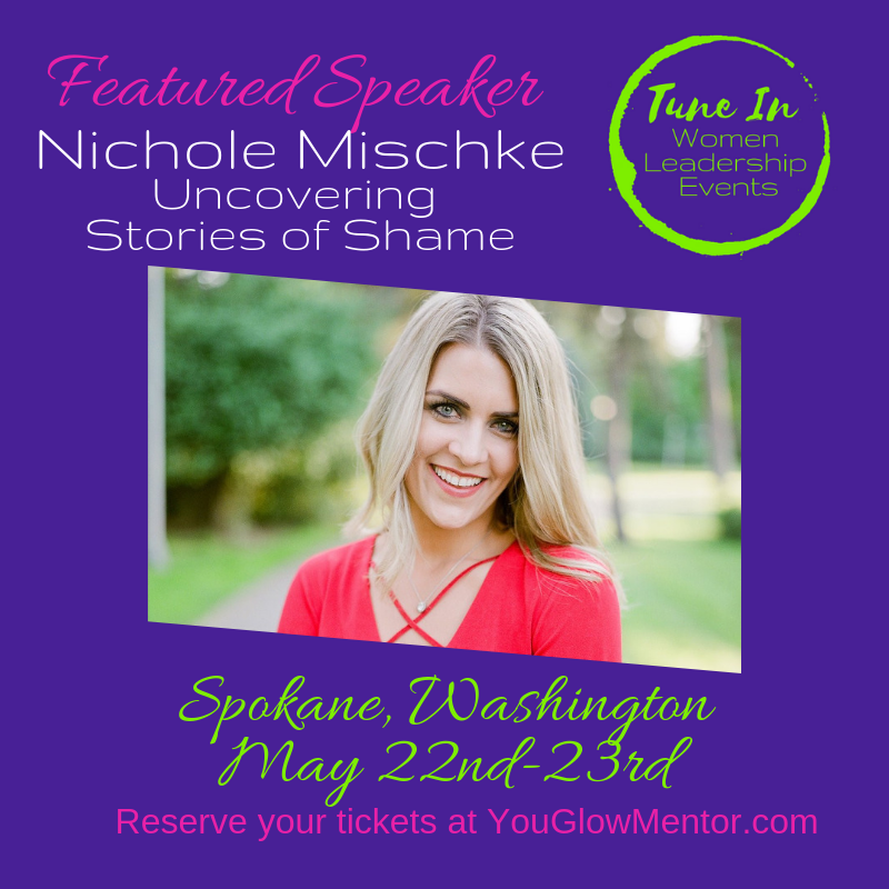 Tune in event speaker - Nichole