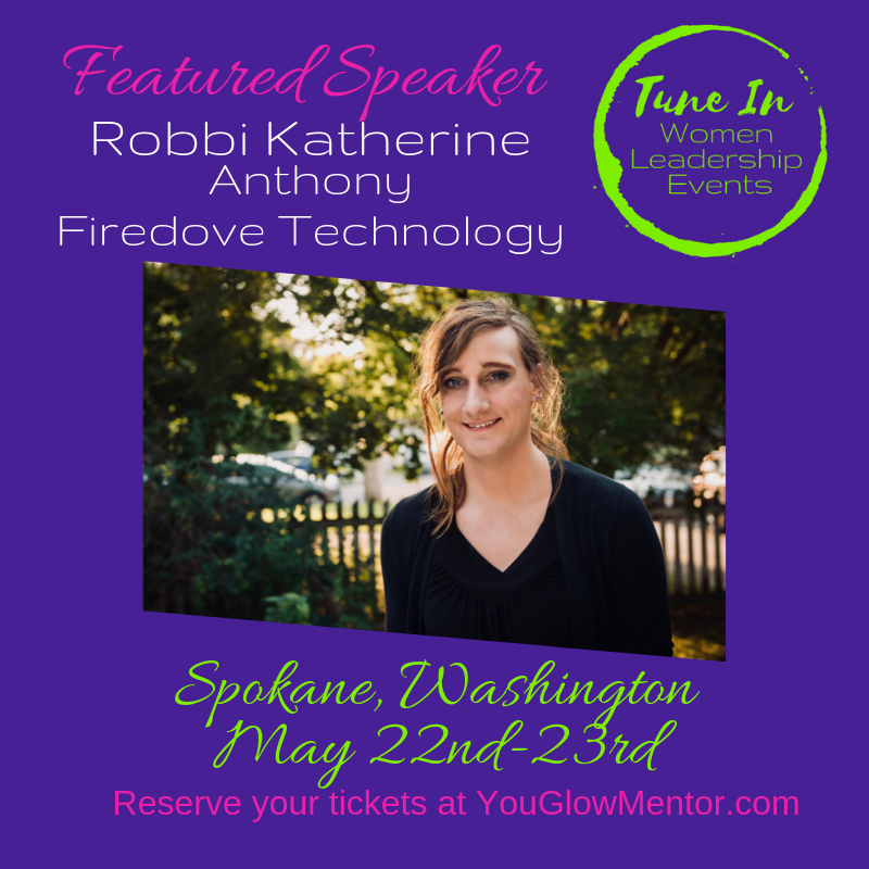 Tune in event speaker - Robbi